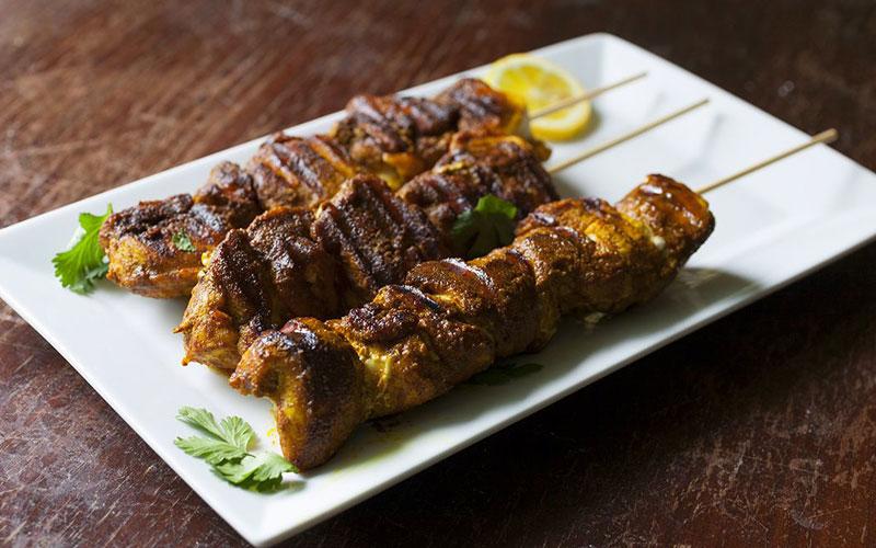کباب مرغ مراکش