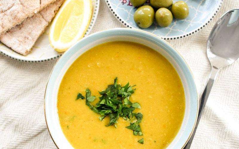 سوپ عدس مجارستان